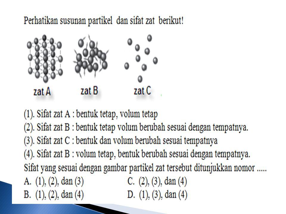 (5) Soal Ebtanas Tahun 2001 Di antara peristiwa berikut, yang termasuk perubahan kimia adalah...