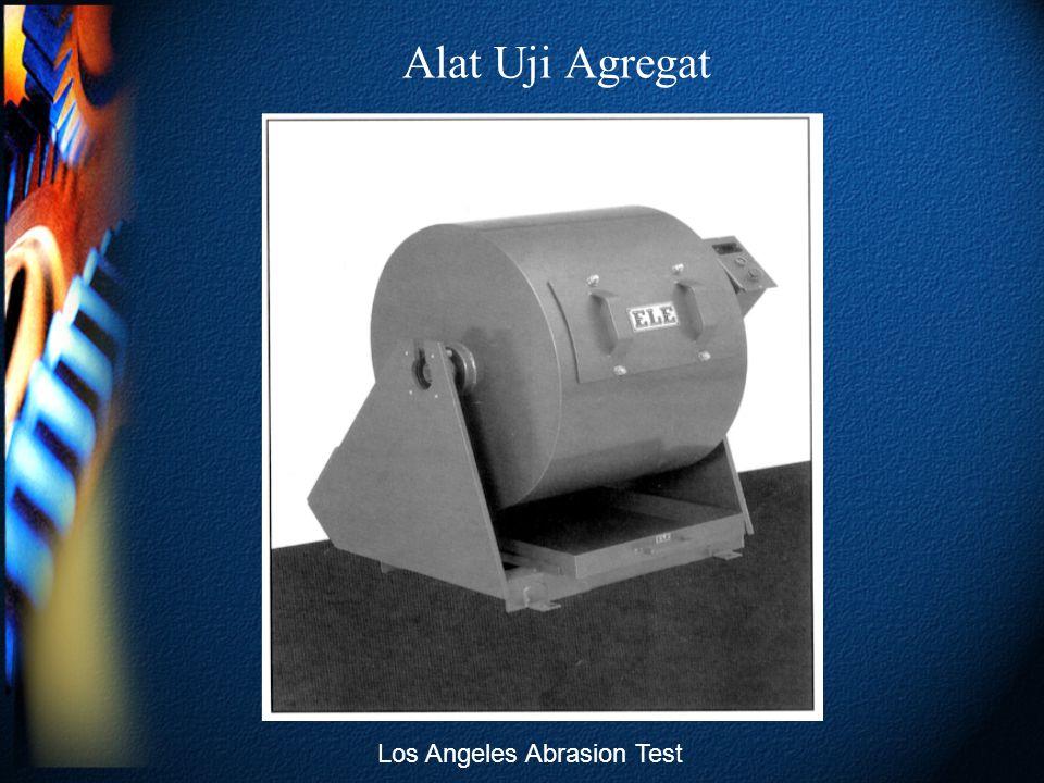 Alat Uji Agregat Los Angeles Abrasion Test