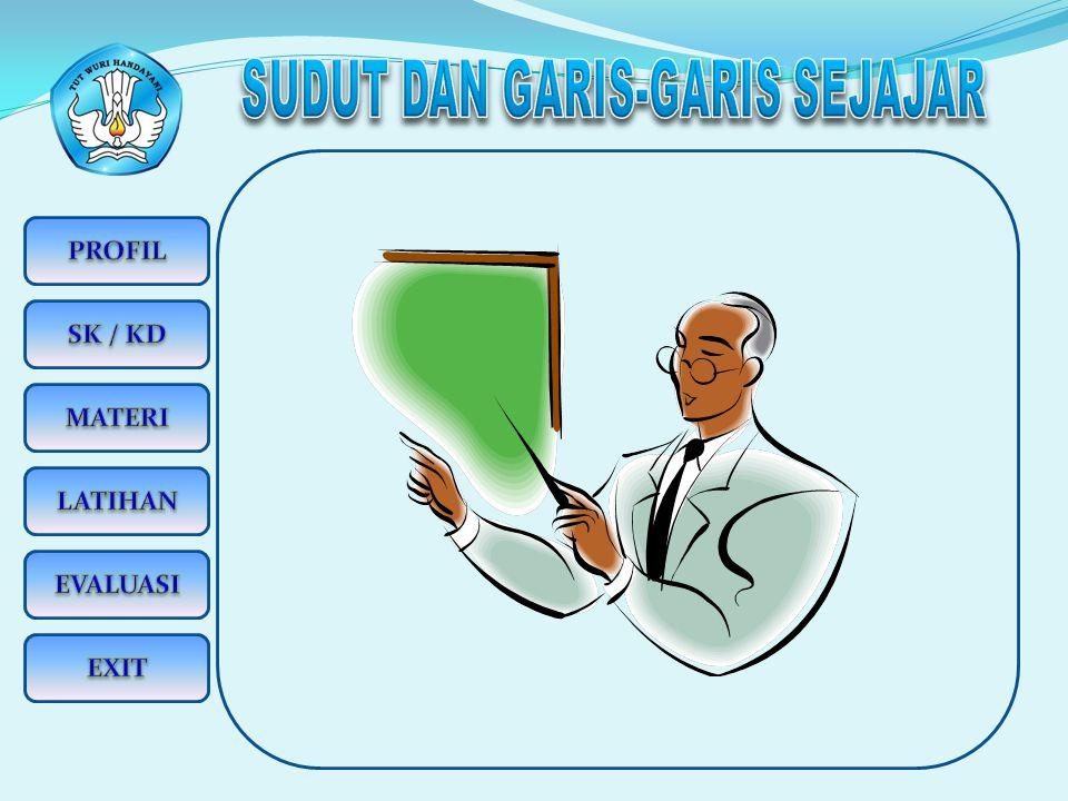 KEDUDUKAN DUA GARIS 1.Garis Sejajar.