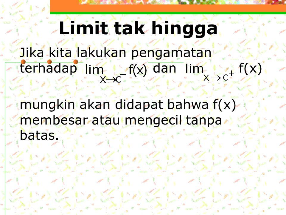 Limit fungsi trigonometri invers 1. 5. 2. 6. 3. 4.