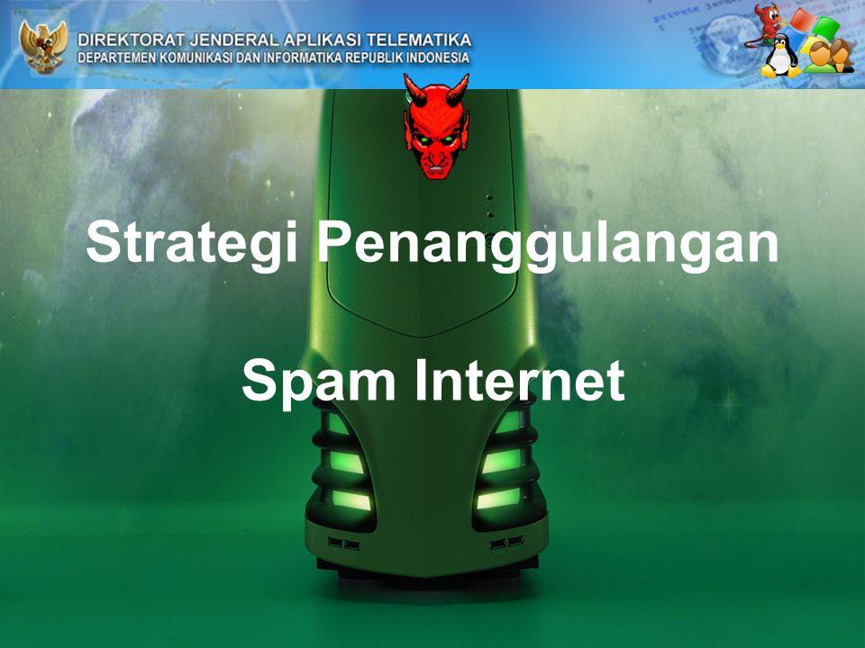 Strategi Penanggulangan Spam Internet