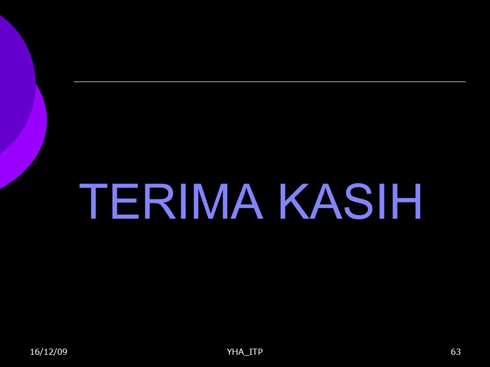 TERIMA KASIH YHA_ITP6316/12/09