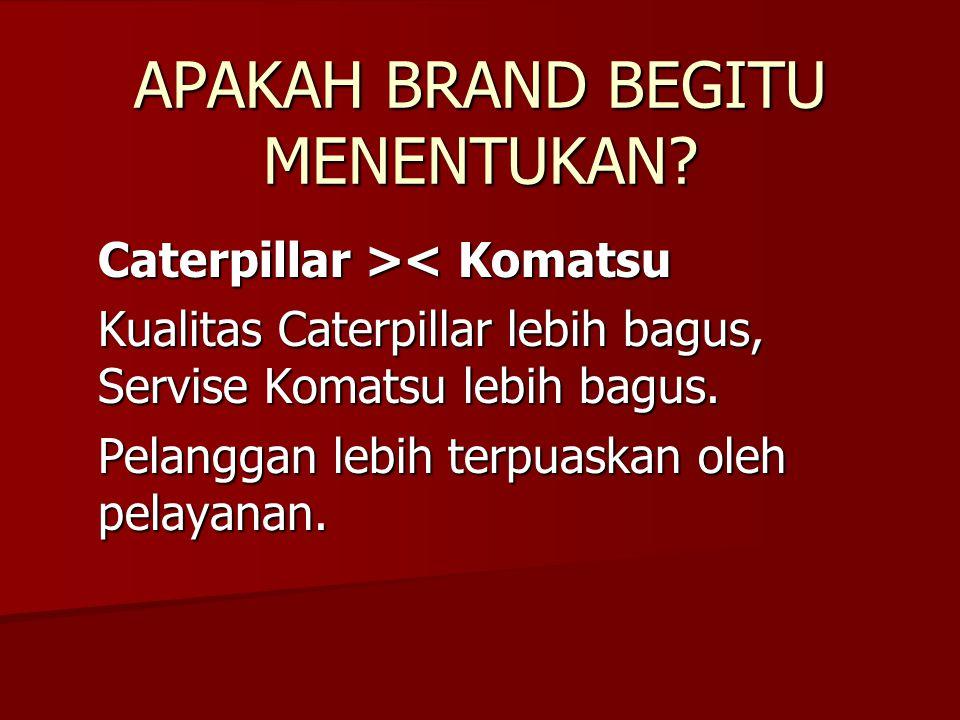 BRAND BUKAN BAGIAN DARI PRODUK.BRAND MENENTUKAN. Brand Decision = keputusan korporat.