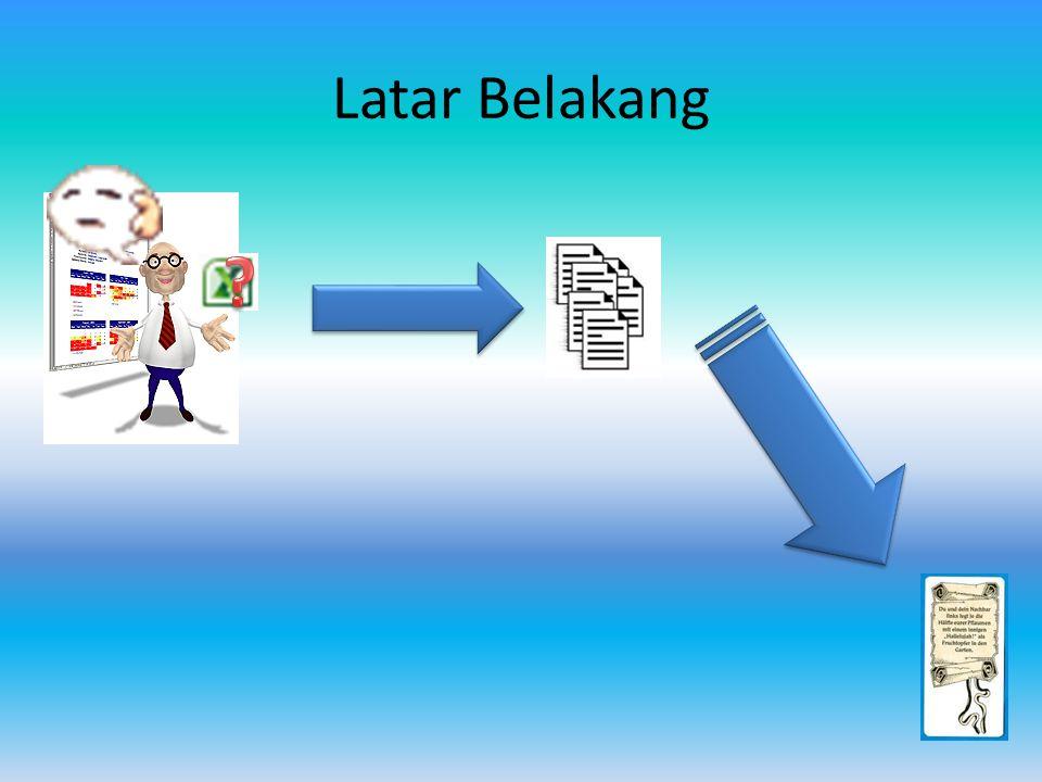 Batasan Masalah Data curah hujan yang digunakan adalah data survei perencanaan pembangunan PLTA Kiayo, Kalimantan Barat tahun 1985-2008.