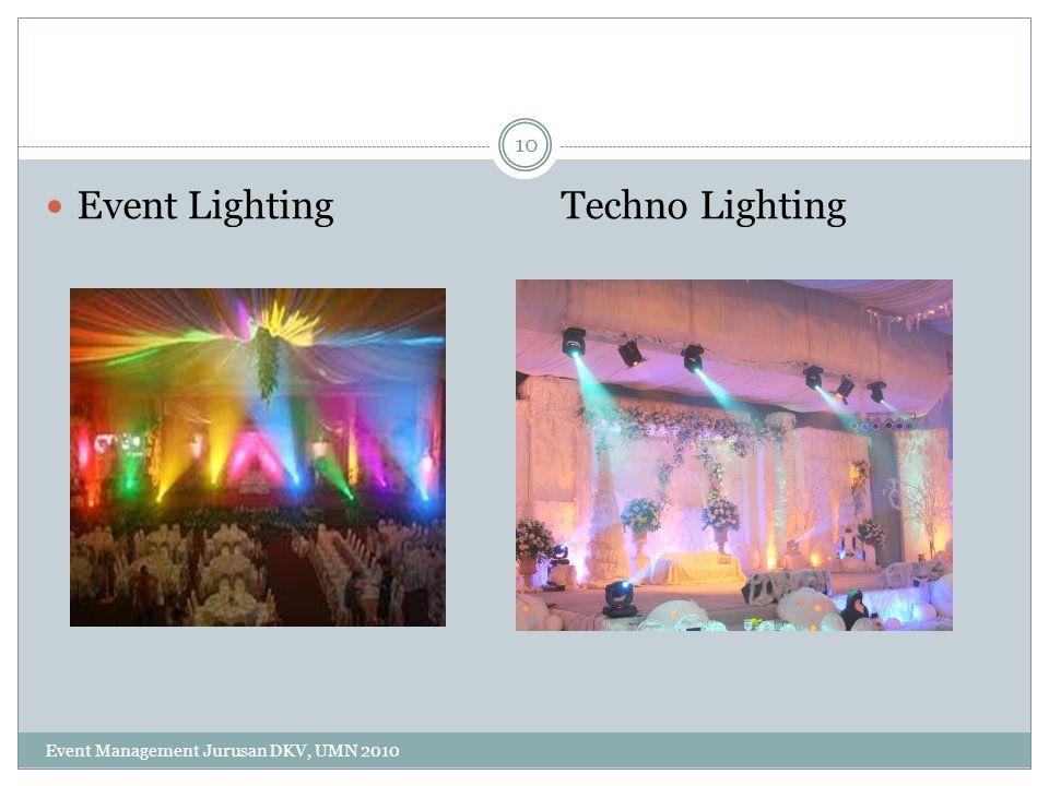 10 Event Lighting Techno Lighting