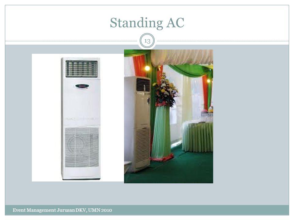 Standing AC 13 Event Management Jurusan DKV, UMN 2010