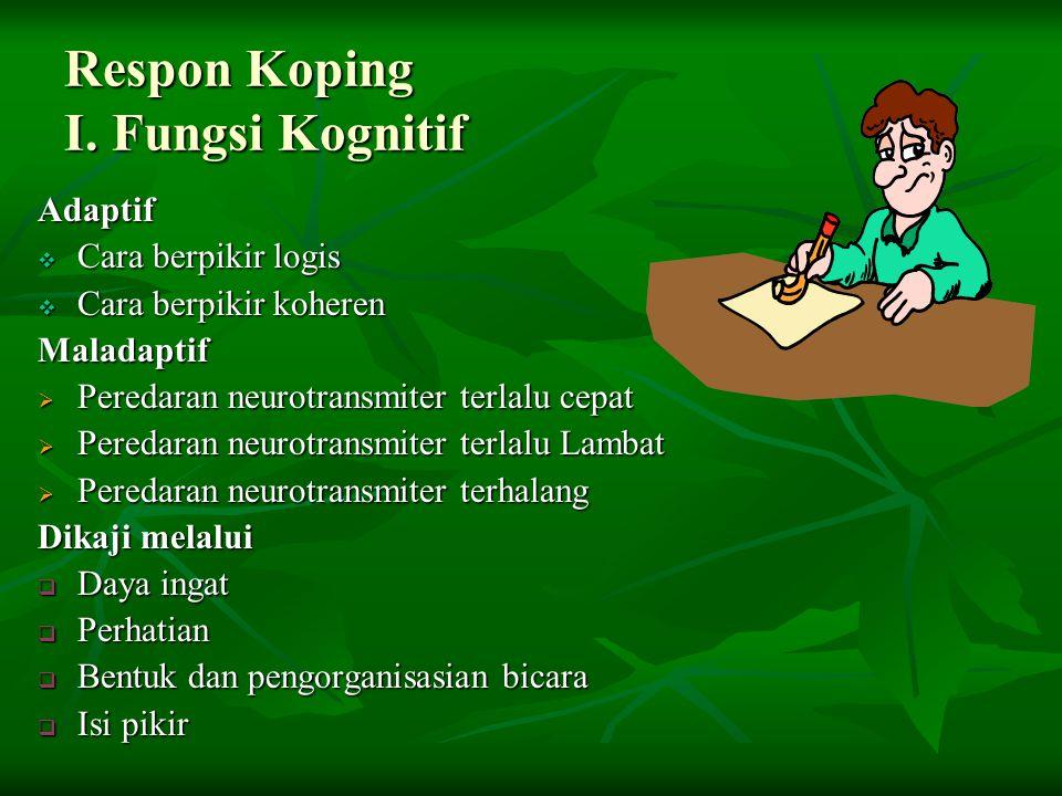 Respon Koping I.