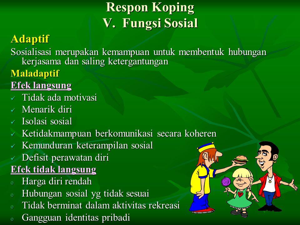 Respon Koping V.