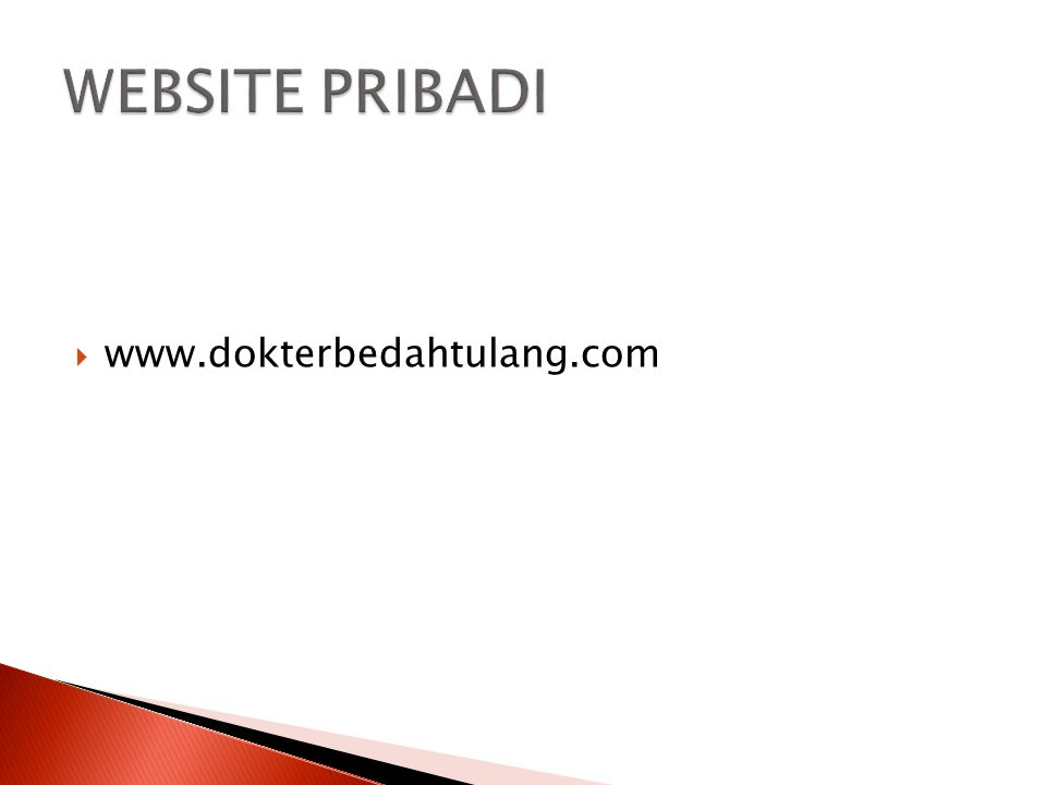  www.dokterbedahtulang.com