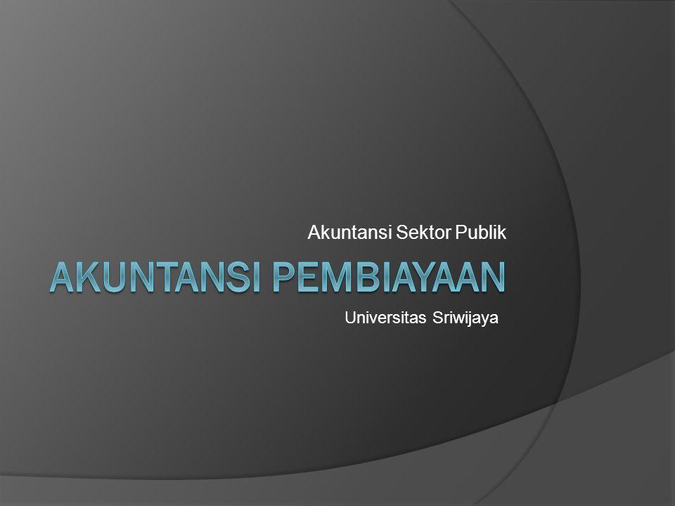 Akuntansi Sektor Publik Universitas Sriwijaya