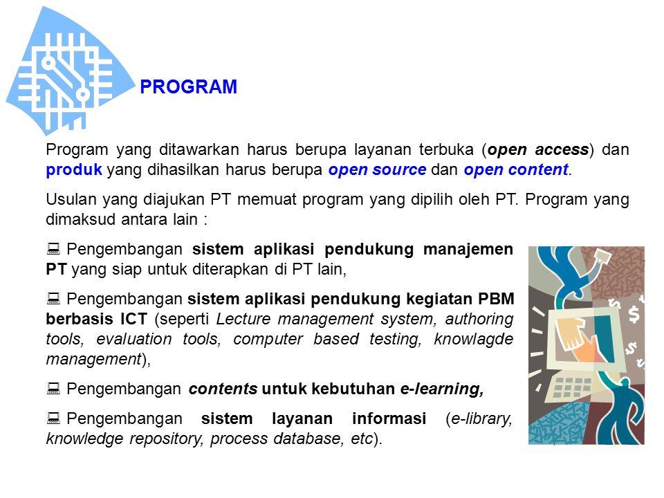  Pengembangan sistem aplikasi pendukung manajemen PT yang siap untuk diterapkan di PT lain,  Pengembangan sistem aplikasi pendukung kegiatan PBM ber