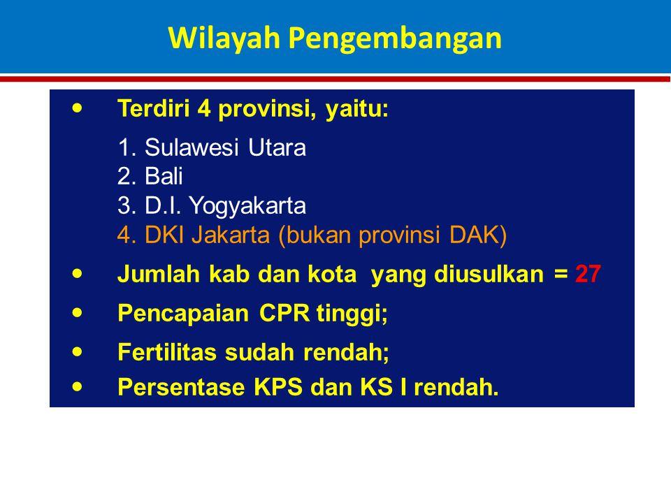 Terdiri 4 provinsi, yaitu: 1.Sulawesi Utara 2. Bali 3.