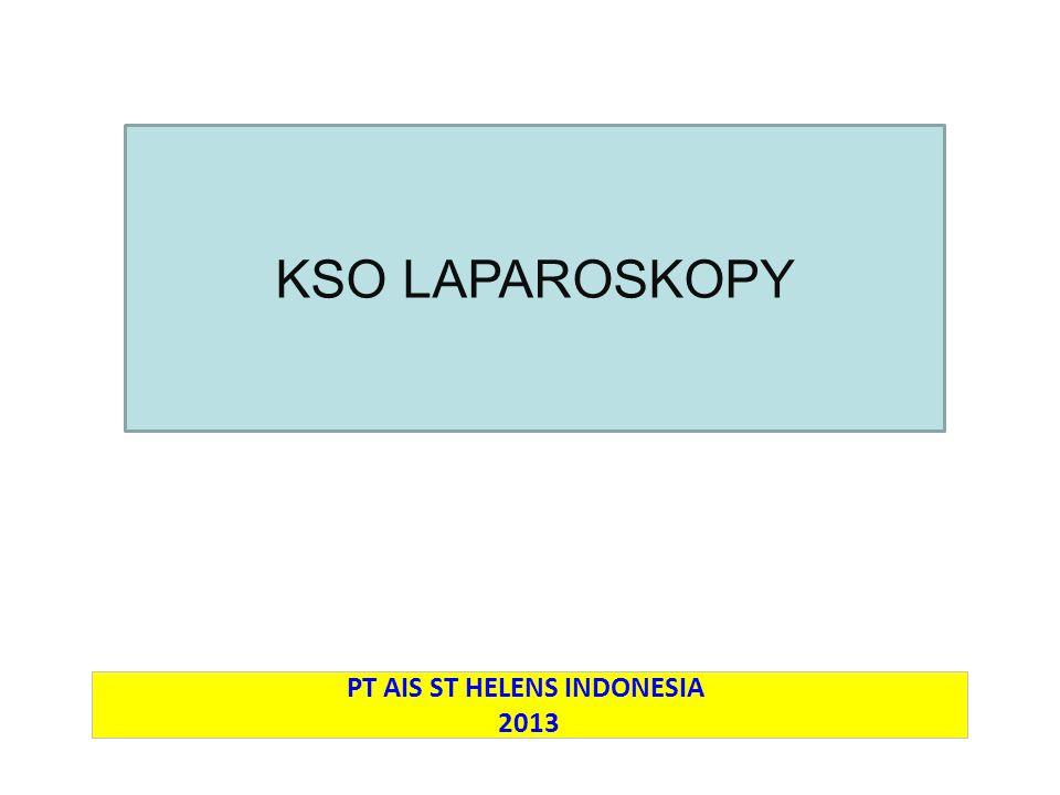 PROPOSALKERJA SAMA OPERASIONAL CATH LAB PT AIS ST HELENS INDONESIA 2013 KSO LAPAROSKOPY
