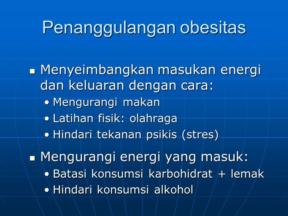 Anjuran: Anjuran: Peningkatan teknologi pengolahan makanan tradisional Indonesia siap santap, sehingga bisa disajikan dengan kemasan penyajian fast-food ala Barat