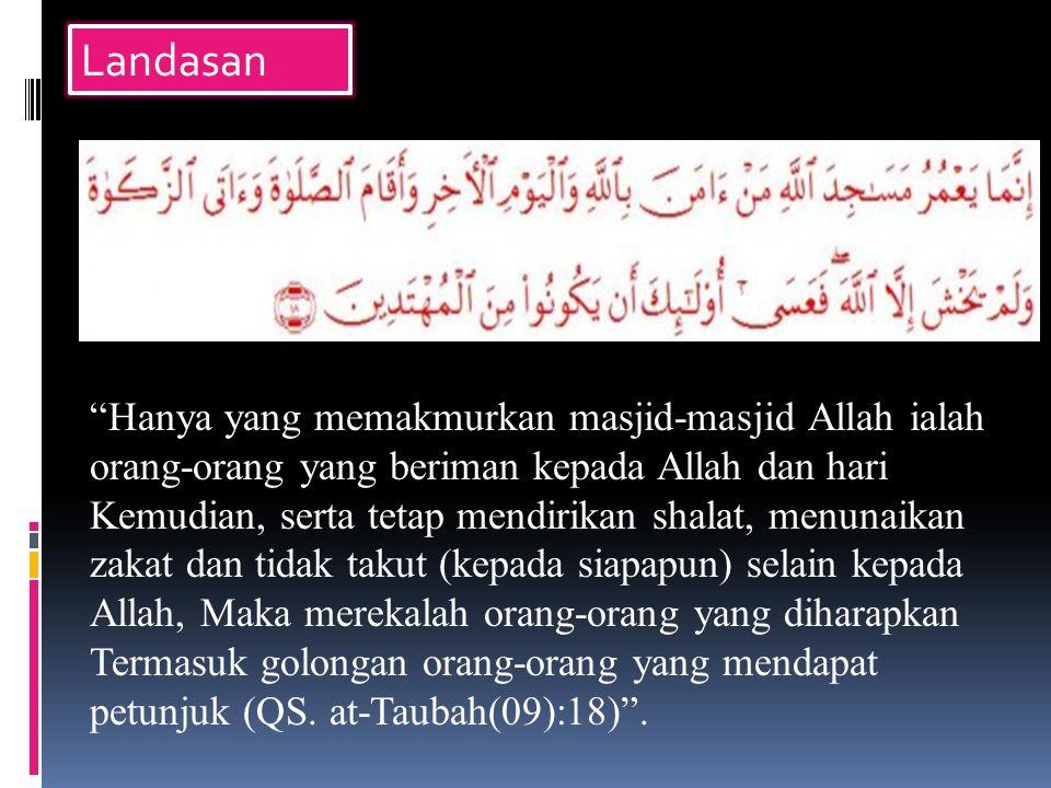 d.Penyelenggaraan Hari Besar Islam dan Nasional e.