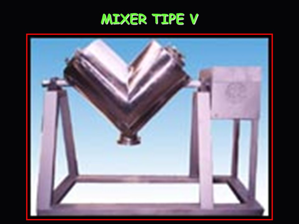 General General This Mixer is applicable for mixing powdery or granular materials in pharmaceutical and other industries.
