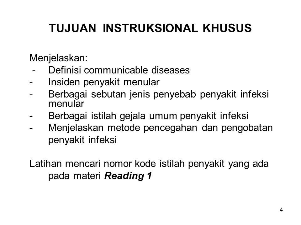 25 Jawaban soal tugas READING 1 (Lanjutan-4) (15) (AIDS)(37)[155]No: B24 HIV yang mana yang dikode dengan B24 ini.