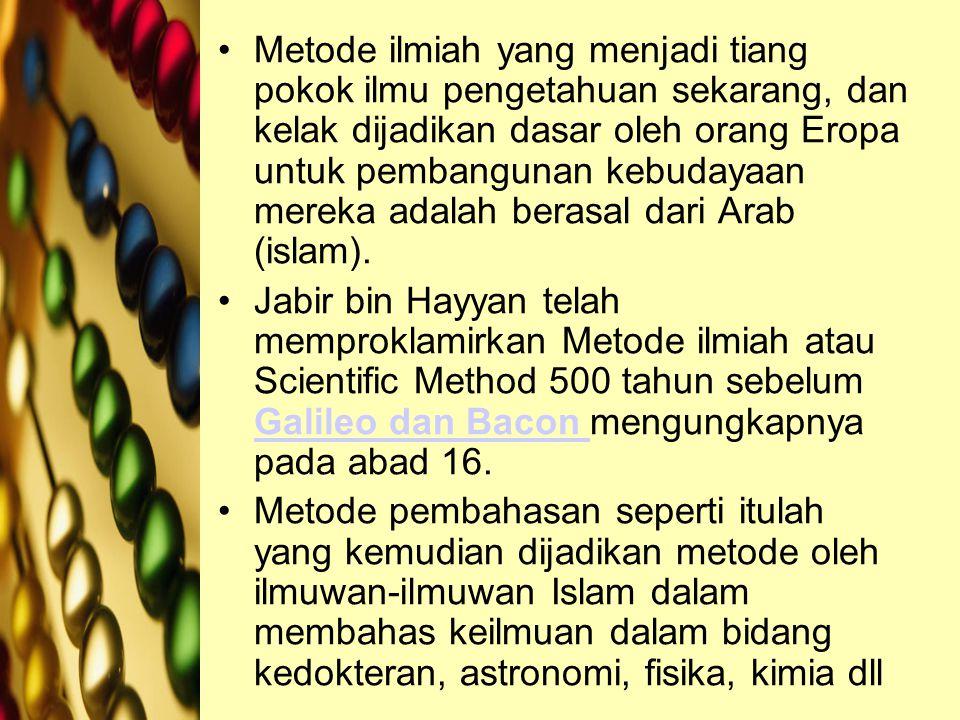 Penelitian Sejarah Banyak buku-buku diterjemahkan dari bahasa asing (Karya-Karya Yunani) ke bahasa arab pada masa khalifah Bani Abbas kedua (136 H/754 M), masa pemerintahan Abu Jakfar Al Manshur.