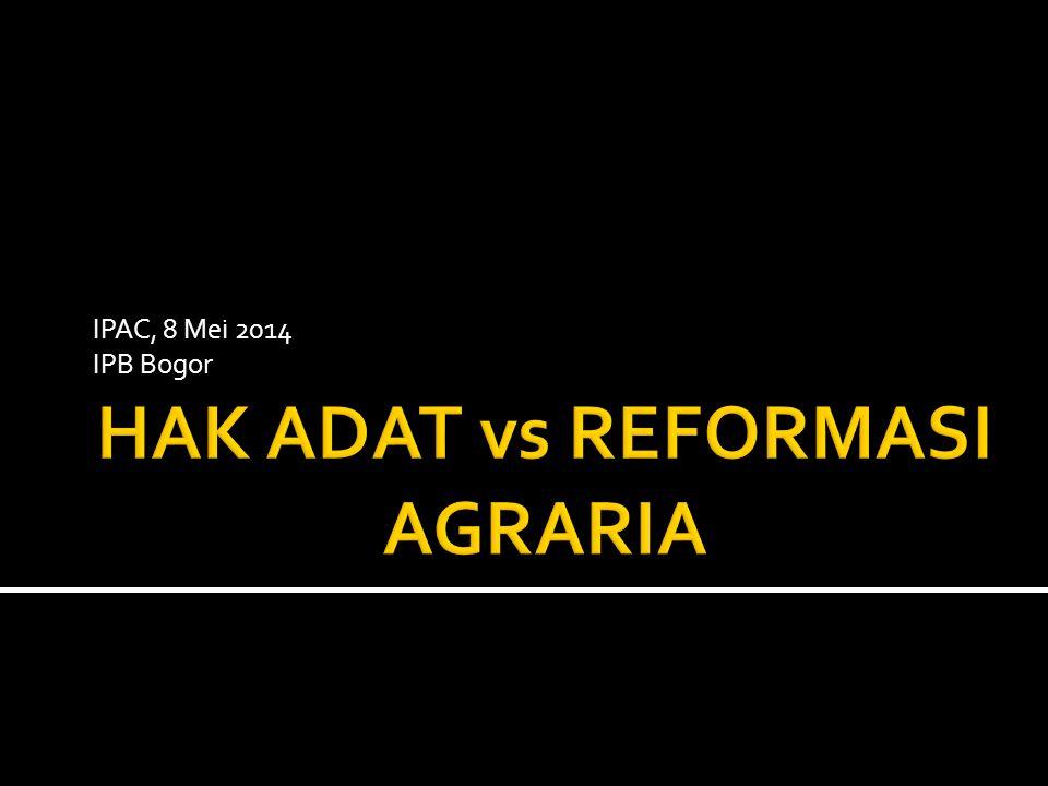 IPAC, 8 Mei 2014 IPB Bogor
