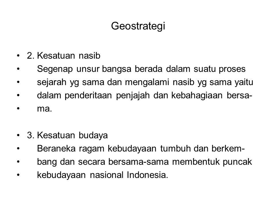 Geostrategi 4.