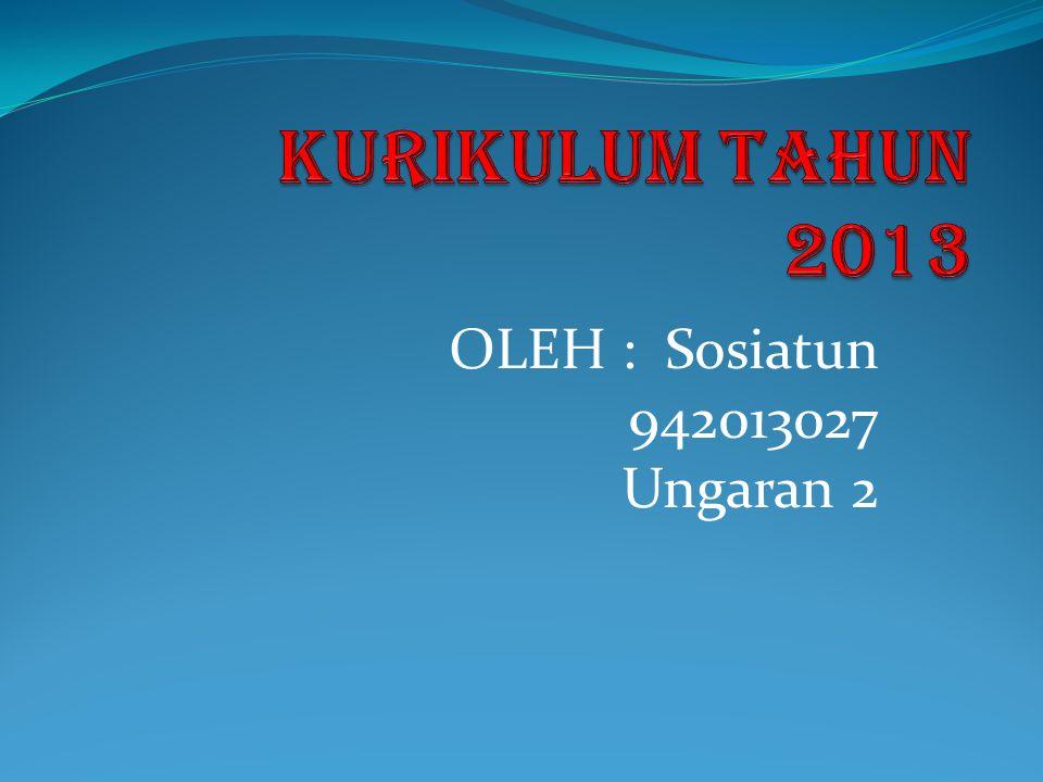 OLEH : Sosiatun 942013027 Ungaran 2
