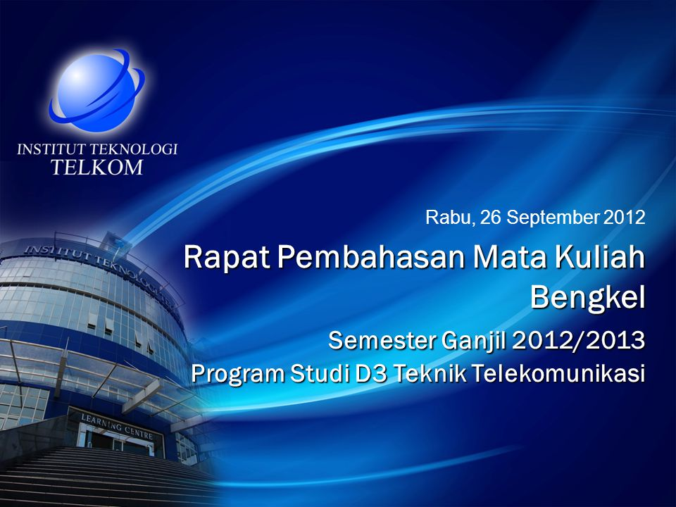 Rabu, 26 September 2012