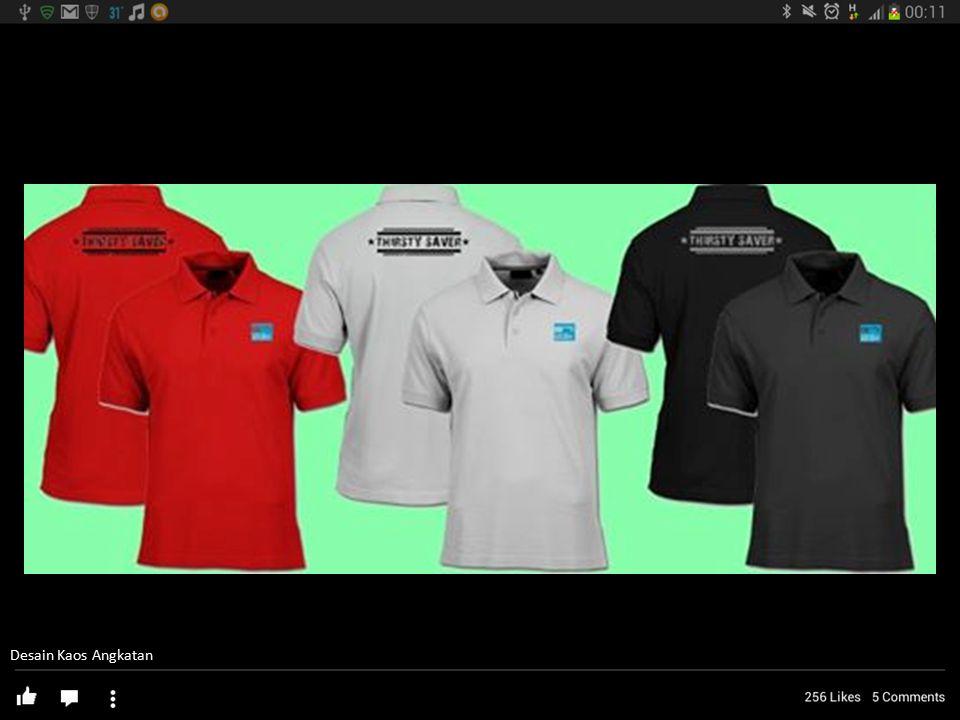 Desain Kaos Angkatan