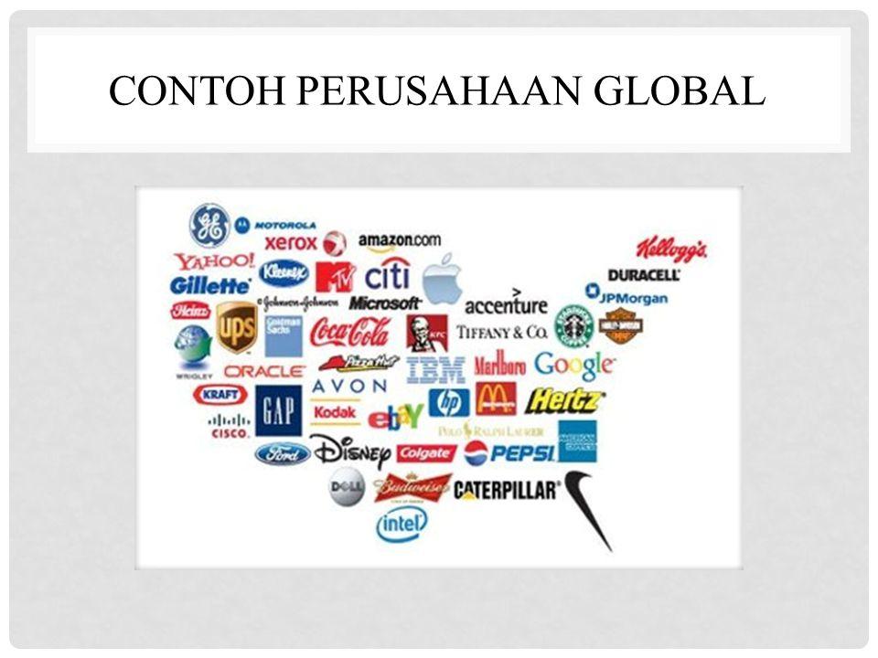 CONTOH PERUSAHAAN GLOBAL