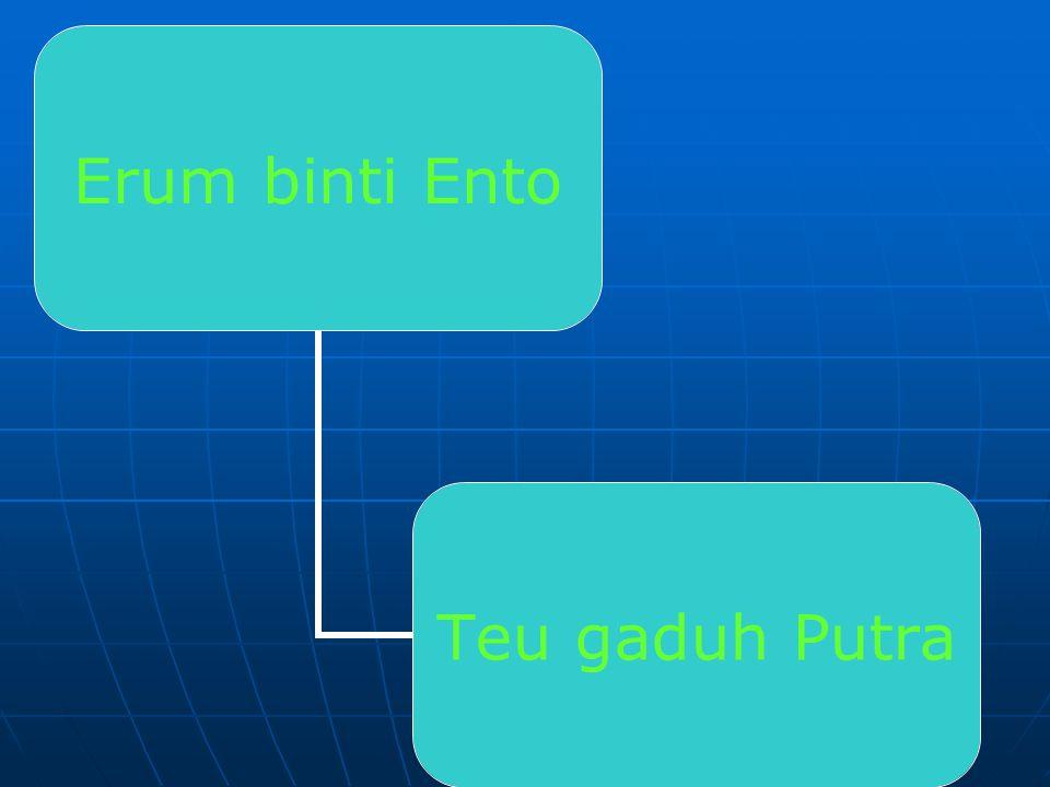 Putra – putra ENCOH T Encoh binti Eyang Arhiam MIMI Sudira