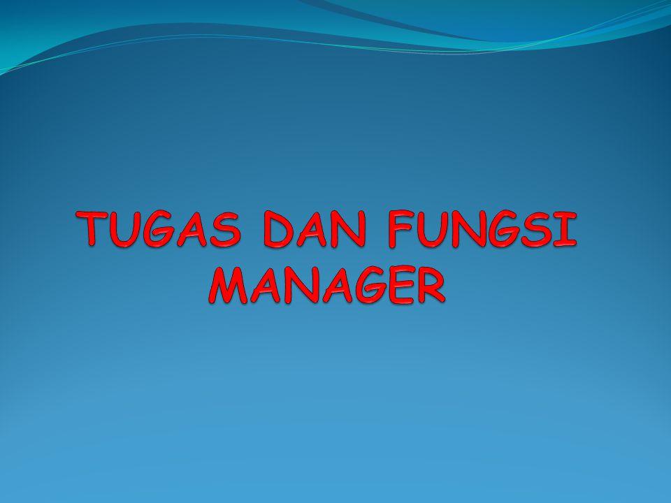 Fungsi Manajemen menurut G.R.Terry Planning. Organizing. Actuating. Controlling.
