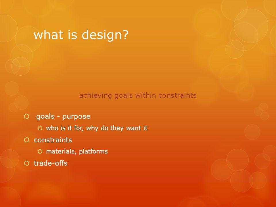 DESAIN INTERAKSI BERORIENTASI TUJUAN  Desain yang dibangun selalu memiliki tujuan untuk berinteraksi.