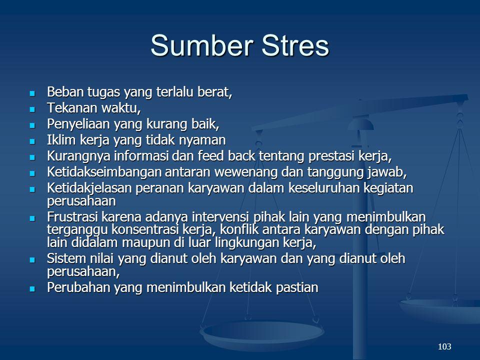 102 A Model of Stress