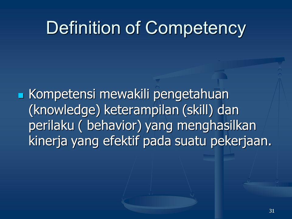 30 Ada dua tujuan dari kegiatan analisis jabatan ini, yaitu : Pertama, untuk menyusun uraian jabatan (job description) dan persyaratan jabatan (job sp