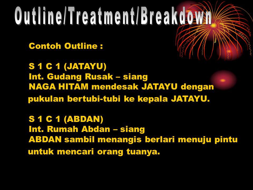 Contoh Outline : S 1 C 1 (JATAYU) Int.