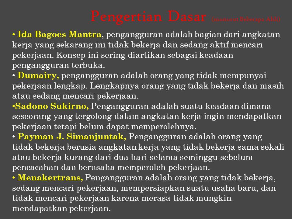 Kondisi Di Indonesia Jumlah angkatan kerja di Indonesia pada Agustus 2011 mencapai 117,4 juta orang, berkurang sekitar 2,0 juta orang dibanding angkatan kerja Februari 2011 sebesar 119,4 juta orang.
