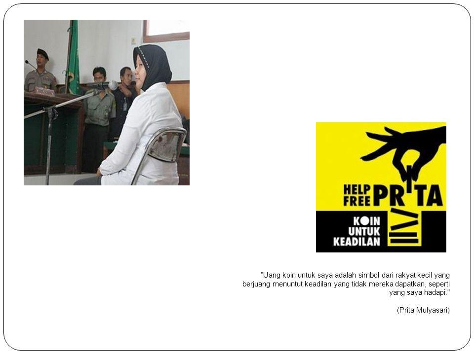 15 Agustus 2008 Prita mengirimkan email yang berisi keluhan atas pelayanan diberikan pihak rumah sakit ke customer_care@banksinarmas.com dan ke kerabatnya yang lain dengan judul Penipuan RS Omni Internasional Alam Sutra .
