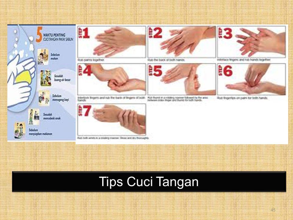 Tips Cuci Tangan 45