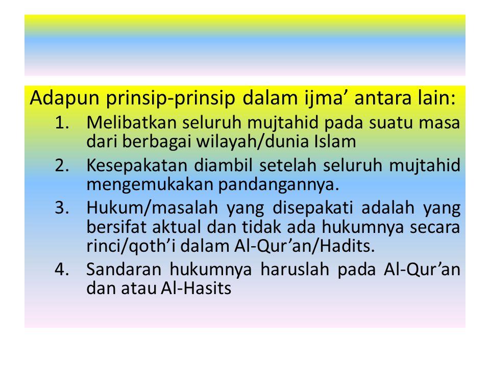 Prinsip-prinsip demokrasi dalam pandangan Islam antara lain: 1.Tauhid sebagai landasan asasi (prinsip teokrasi/nomokrasi) 2.Kepatuhan pada hukum Allah