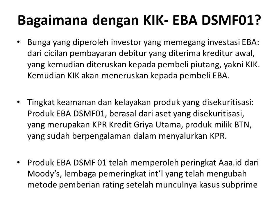 Bagaimana dengan KIK- EBA DSMF01.