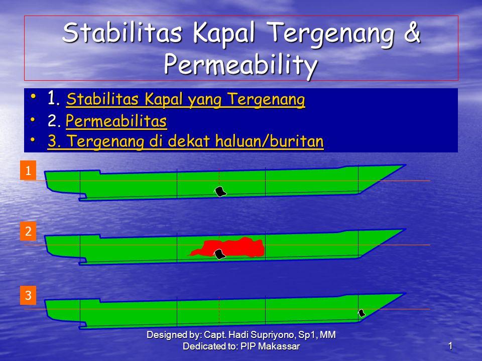Designed by: Capt.Hadi Supriyono, Sp1, MM Dedicated to: PIP Makassar2 B.
