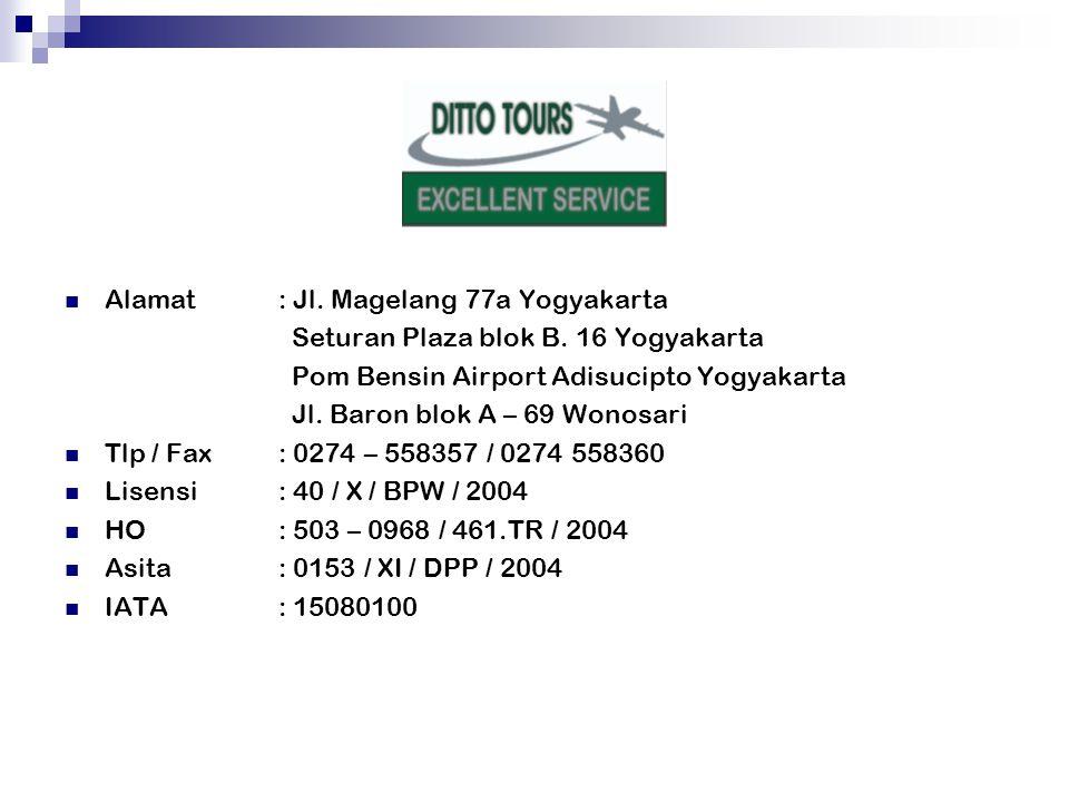 Alamat: Jl. Magelang 77a Yogyakarta Seturan Plaza blok B.