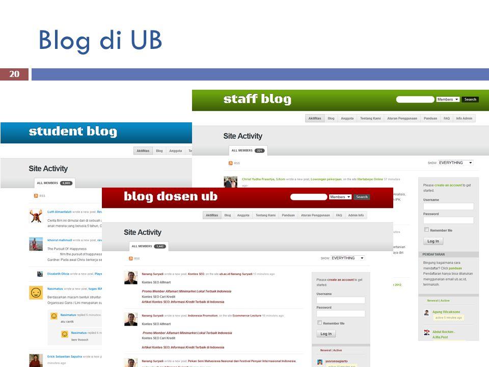 Blog di UB 20