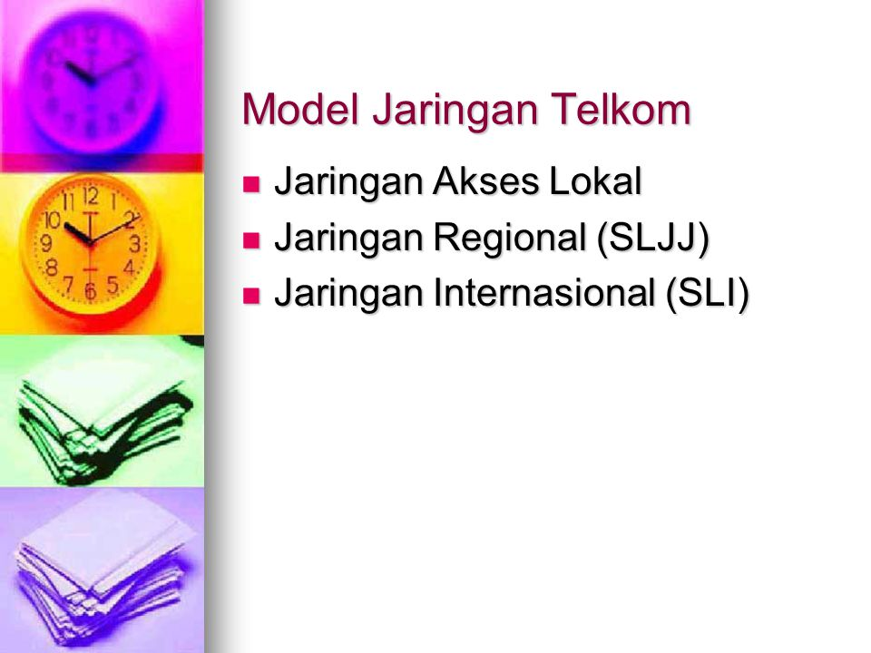 Infrastruktur Akses / Telkom ISP ISP Warung Internet Warung Internet Internet Telepon Internet Telepon