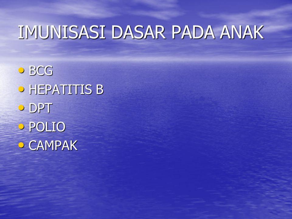 DPT PENYEBAB : PENYEBAB : 1.D : CORYNE BACTERIUM 1.