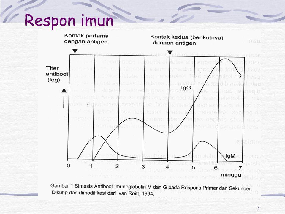 6 Vaksinasi Respon imun dan memori mirip dengan infeksi alamiah, tetapi tanpa menimbulkan penyakit (tinggi imunogenitas, rendah reaktogenitas) Klasifikasi: Program: Pengembangan Program Imunisasi ( PPI ): Hep B, BCG, Anti Polio, DPT, Campak Non PPI: Hib, Hepatis A, MMR, Varicella Kandungan Antigen: Vaksin hidup yang dilemahkan ( BCG, OPV, Campak, MMR, Varicela, Typhoid oral) Vaksin inactive: Toksoid, rekombinan, konjugasi, sel utuh, sebagian sel ( Hepatitis A, B, DPT, DPaT, Tipus inj, IPV, HiB)