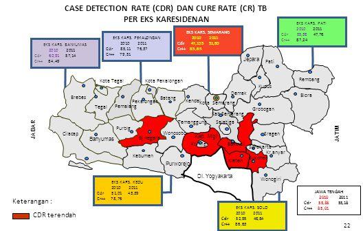 EKS KARS.PEKALONGAN 2010 2011 Cdr 85,11 76,37 Cr++ 79,51 EKS KARS.