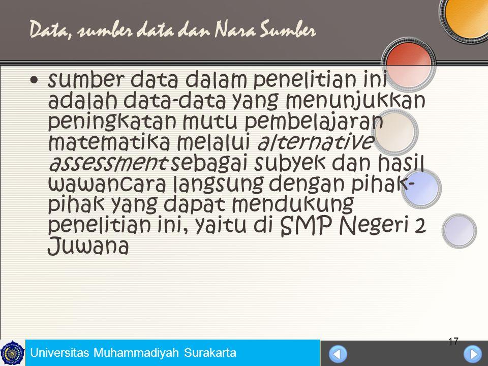 Universitas Negeri Jakarta TEMPAT DAN WAKTU Penelitian ini dilakukan di SMP Negeri 2 Juwana Kabupaten Pati Propinsi Jawa Tengah.