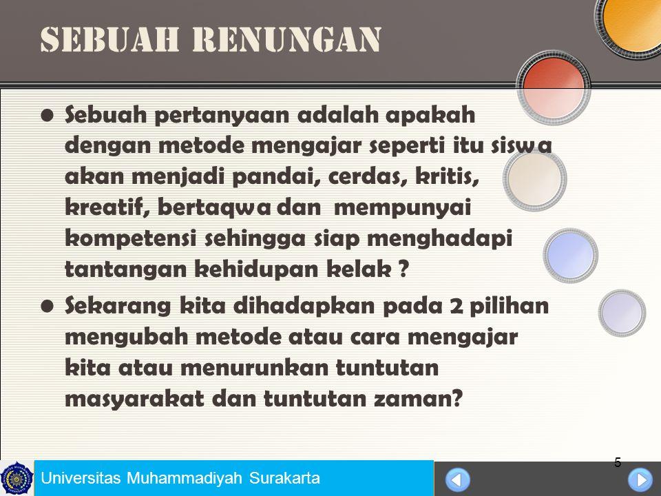 Universitas Negeri Jakarta lanjutan Pelajaran matematika sering dirasakan pelajaran yang sulit anggapan ini tidak hanya dirasakan oleh guru yang mengajar di kelas tetapi siswa juga terkena imbasnya, karena guru yang kurang menyenangi dan bosan sehinga berimbas terhadap minat dan motivasi belajar siswa yang rendah sehingga pada akhirnya hasil belajar siswa kurang baik.