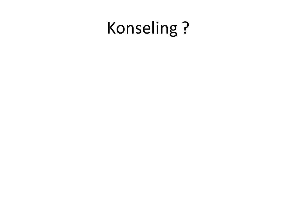 Konseling ?