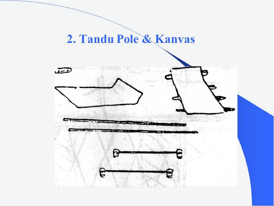 IV.Pengangkutan dengan tandu IV.Pengangkutan dengan tandu 1. Tandu Furley/Kanvas/Standar Macam-macam tandu :